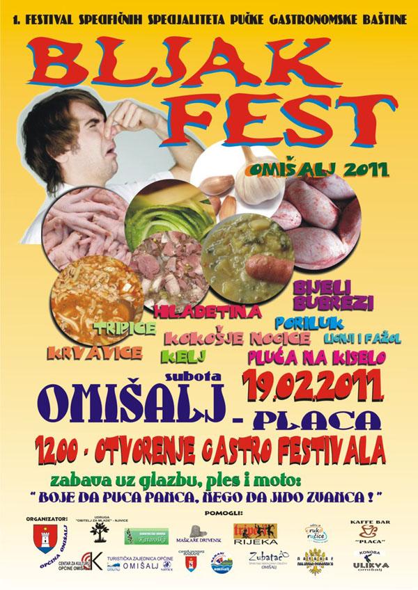 Bljak Fest u Omišlju