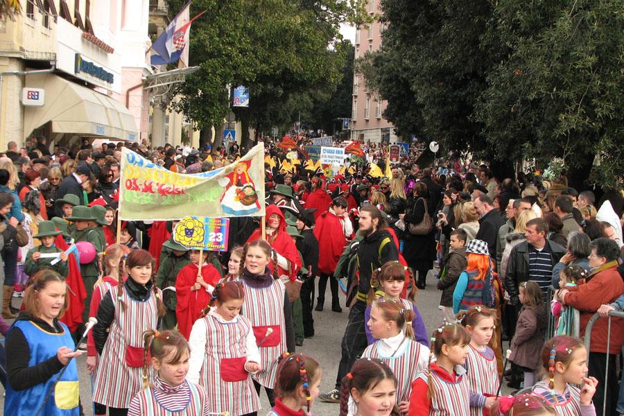 dječji karnevalski korzo, opatija, karneval,