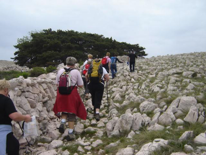 Pješačenje po otoku Krku