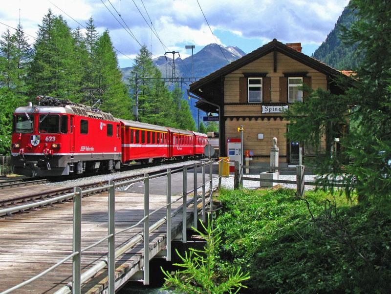 Putovanje Alpama Vlakom