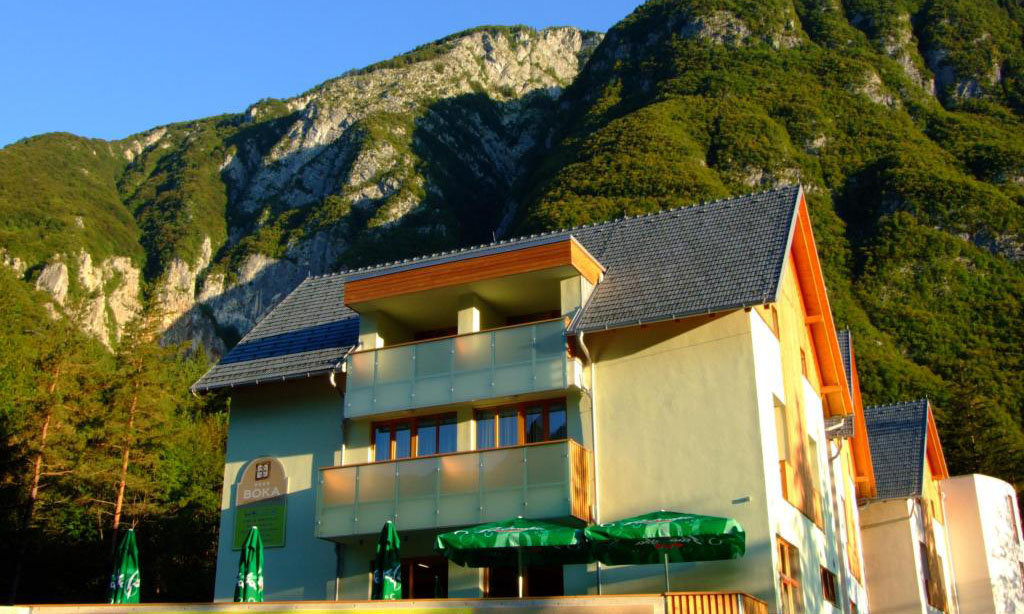 Pansion Boka, Bovec