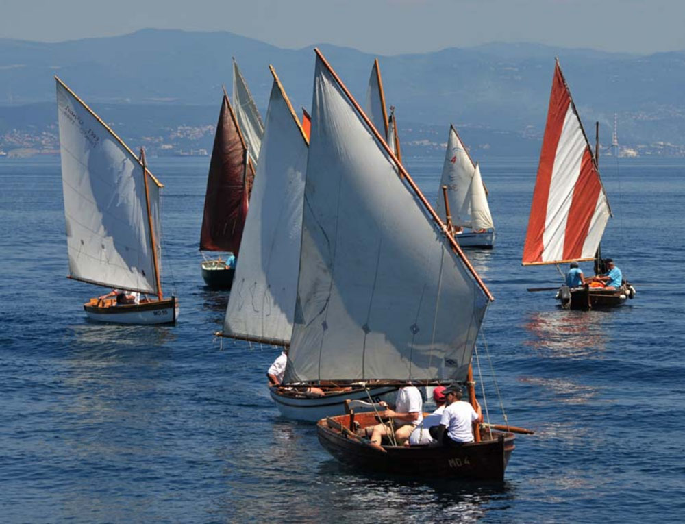2. regata tradicijskih barki na jedra