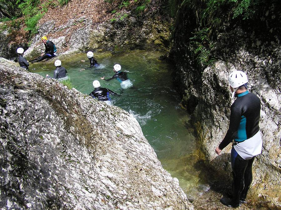Canyoning Sušec, Soča