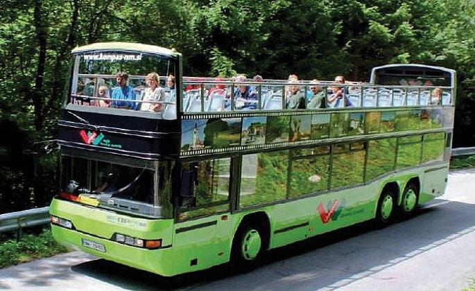 turistički autobus Veseli Janez - double-decker