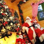 Djed Božićnjak na Učki