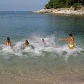 Novogodišnje kupanje, Mali Lošinj